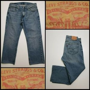 Levi's 559 Men Denim Relaxed Fit Straight Jeans